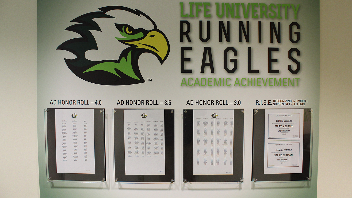 160 Student Athletes Named To Spring Ad Honor Roll Life University